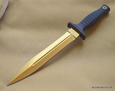 "MTECH FIXED BLADE BOOT KNIFE 11.25"" OVERALL DOUBLE EDGE BELT CLIP NYLON SHEATH"