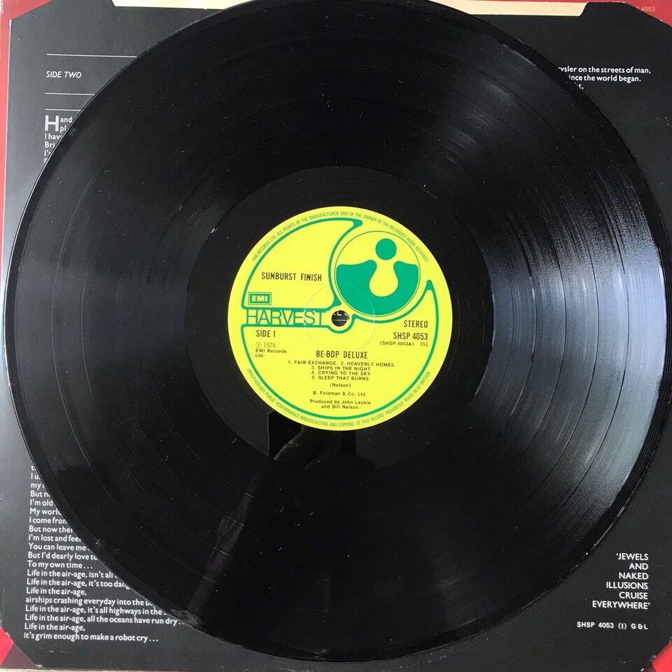 LP, Be Bop Deluxe, Sunburst Finish