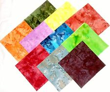 40 5 inch Quilting Fabric Squares Beautiful TIE DYE Charm pack!Buy it Now