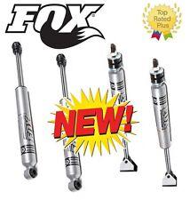 """2001-2010 GMC Sierra 2500 3500 Fox Shocks 2.0 Front/Rear for 3"""" Leveling Kits"""