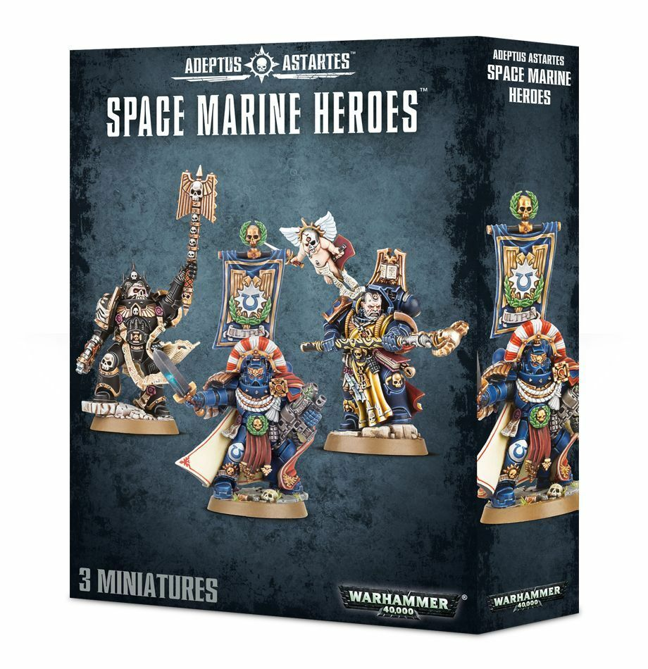 Warhammer 40k space marines box neue helden