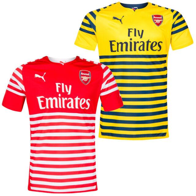 FC Arsenal London PUMA Herren Pre-Match Trainings Trikot Jersey 746934 England