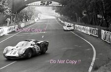 Mairesse & Muller Scuderia Filipinetti Ferrari 365 P2/P3 Le Mans 1966 Photograph