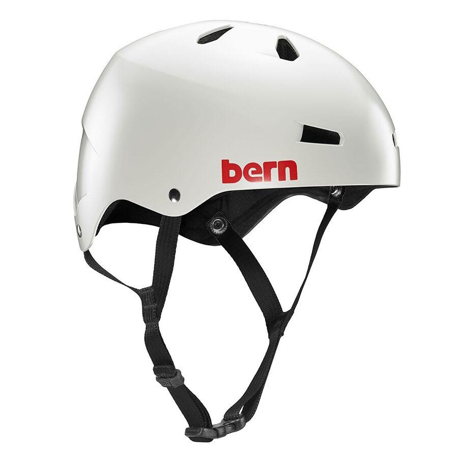 Bern Macon  Mens EPS Bike Cycle Helmet Thin Shell S-M   L-XL   2XL-3XL Light Grey  gorgeous
