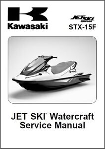 04 05 kawasaki stx 15f jet ski service repair manual cd jetski rh ebay com 1993 Kawasaki Jet Ski Models 1995 Kawasaki Jet Ski