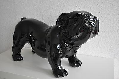 Englische Bulldogge, Hund, 60 Cm X 38 Cm Groß Designer Deko, Figur