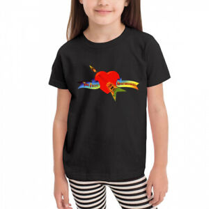 Kids boys girls Toddler Tom Petty And The Heartbreakers Short Sleeve t shirt