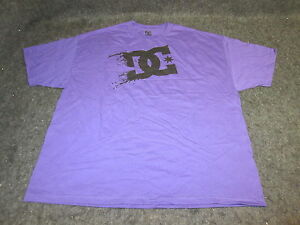 7c53762103 Mens Genuine DC Shoes skate bmx mx Tee T-Shirt S M L XL XXL purple ...