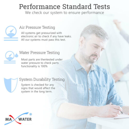 4 Water Filter 75 GPD 5 Stage Drinking Reverse Osmosis System Extra Full Set