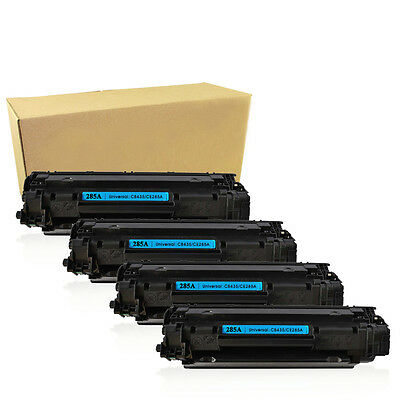 4PK CE285A 85A 285A Toner Cartridge For HP 85A LaserJet P1102 P1102W M1212NF MFP