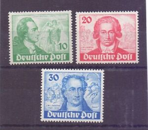 Berlin-Goethejahr-1949-MiNr-61-63-postfrisch-geprueft-Michel-320-00-867