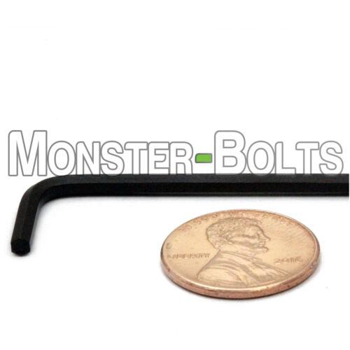 ".035/"" .050/"" 1//16 5//64 3//32 7//64 1//8 9//64 Short Arm US SAE Alloy Steel Hex Keys"