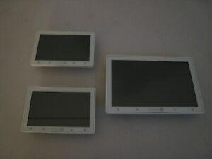 Lot of 3 Control4 Touchscreen Panel Lot C4-TSWMC5 C4-TSWMC7 READ DESCRIPTION