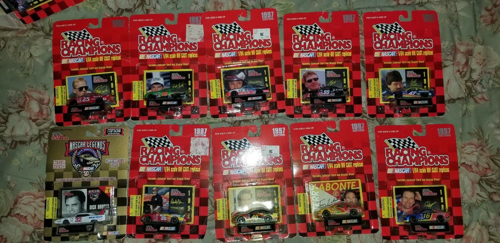 LOT OF OF OF 59 1 64 DIE CAST NASCAR COLLECTIBLE CARS NIP ba1d3e
