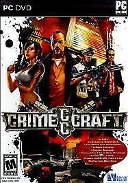 (PC, 2009) - Crime Craft - Complete - Best Buy Exclusive - PC / DVD