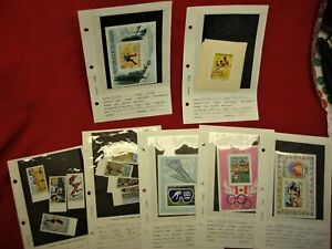 OLYMPICS-RELATED-STAMPS-FROM-LOCAL-COLLECTION-SETS-amp-SINGLES-WORLD-COLLECTION