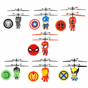 Marvel-Licensed-Helicopter-3-5-Inch-Flying-Figure-IR-UFO-Big-Head-Remote-Control