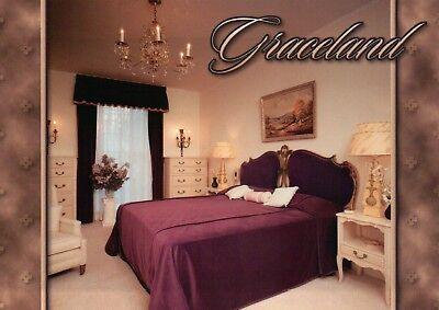 Bedroom Of Gladys Presley Mom Of Elvis Graceland Memphis Tennessee Postcard Ebay