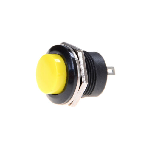 5Pcs R13-507 Momentary Button Switch Installing Hole 16mm 3A GoodYJ