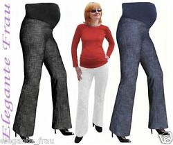 UMSTANDSHOSE DENIM- JEANS HOSE Umstandsjeans mit Bauchband *** leggings *** gre