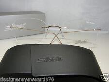 New Authentic Silhouette Titanium Rimless Eyeglasses 7610 6051 Austria MMM