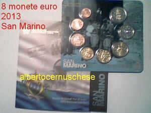 2013 BU SAINT MARIN 8 pièces 3,88 euro san marino KMS fdc en coffret officiel