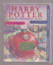 Harry Potter and the Philosopher's Stone. Stephen Fry AUDIO BOOK CASSETTES (T85)