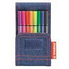 Stabilo Fasermaler Pen 68 Mini Jeans Edition 8er Etui