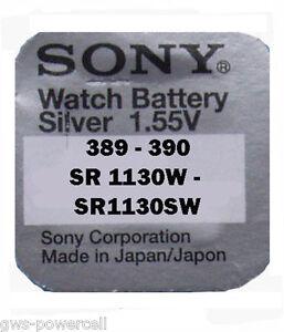 20-x-Sony-390-389-Batterie-V390-V389-1-55V-V-390-SR54W-SR1130W-SR1130SW