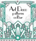Art Deco Patterns to Colour by Emily Bone (Paperback, 2016)