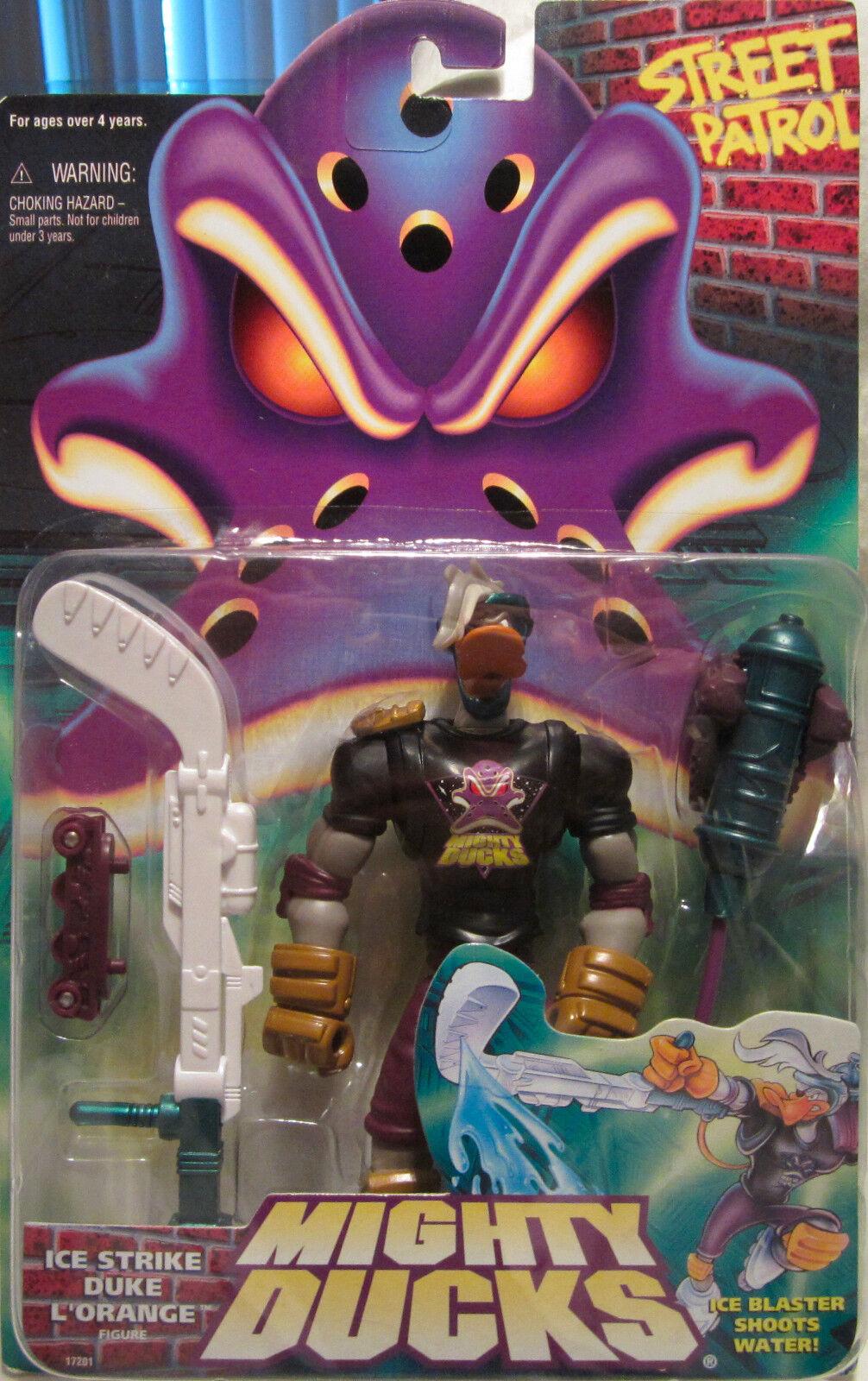 Mächtig Enten Ice Strike Duke L'Orange Wirkungfigur Mattel 1996 Neu