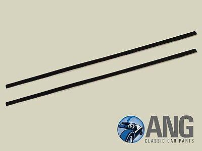 Mgb-gt, mgc-gt Puerta gota de cristal exterior en la cintura. Seals x 2 /& fitting Clips ahh6348//9