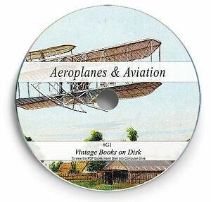History-of-Aeroplane-Aviation-Books-on-DVD-Aeronautics-Design-Aircraft-Flight-G1