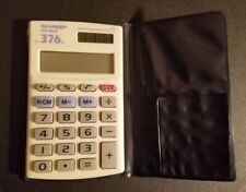 Sharp Elsi Mate El-376l Twin Power Calculator