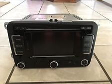2012 VW Volkswagen RNS-315 Navigation GPS Am Fm SAT Radio Stereo CD Player OEM