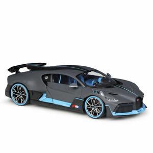 Bburago-1-18-Bugatti-Chiron-Divo-Diecast-Modelo-Vehiculo-Coche-De-Carreras-Nuevo-En-Caja