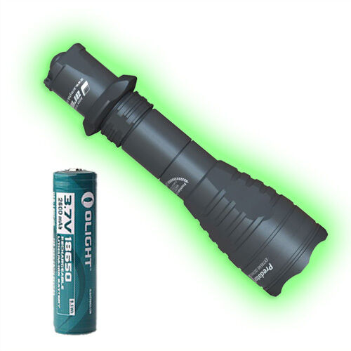 Armytek Predator Pro v3 XB-H (Warm) Flashlight  w 1x Olight 18650 Battery