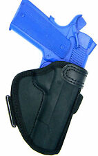 "Open Top Molded Nylon Belt Slide Holster For 4"" DAN WESSON 1911"