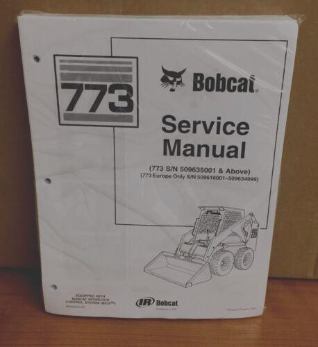 Business & Industrial Bobcat 773 Skid Steer Loader Complete Shop ...