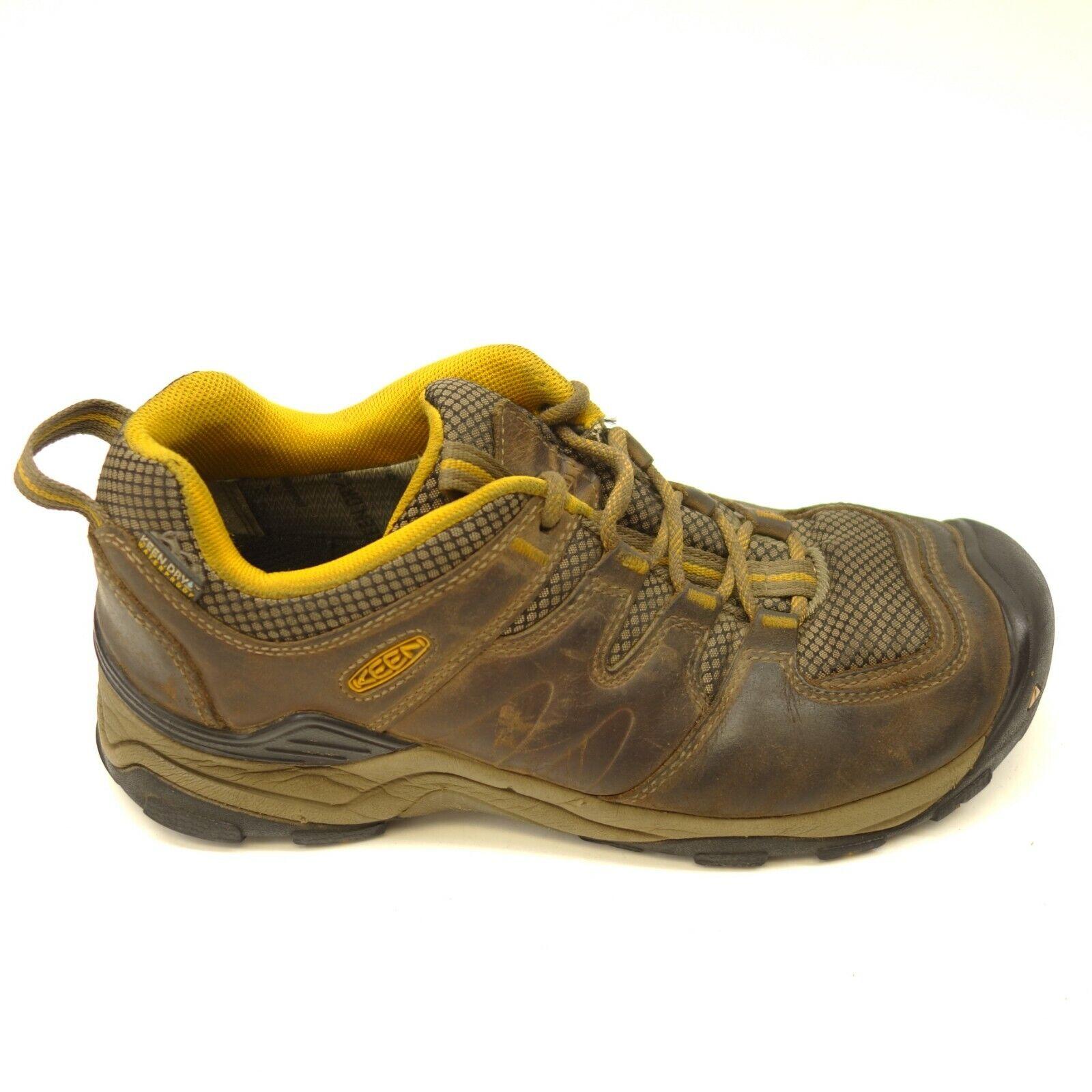 Keen Voyageur bajo US 8 Cuero Soporte para senderismo y para Hombre Zapatos Atléticos