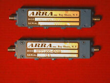 Arra Microwave Band Pass Filter Bpf5900 6500 5900mhz To 6500mhz 100 Watts Data