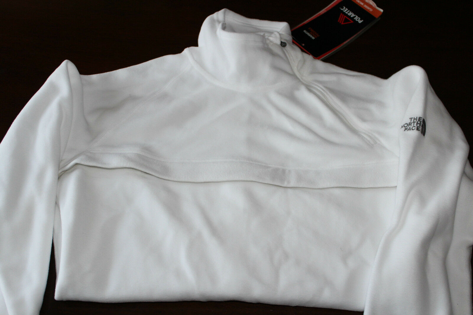 THE NORTH FACE  TKA 100 Microvelour Style WHITE  MEDIUM