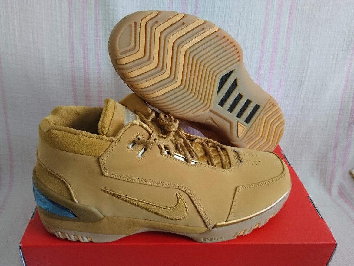 Nike Air Zoom generación ASG QS trigo LBJ aq0110 LeBron James 1 retro aq0110 LBJ 700 SZ 15 casual salvaje f3694c