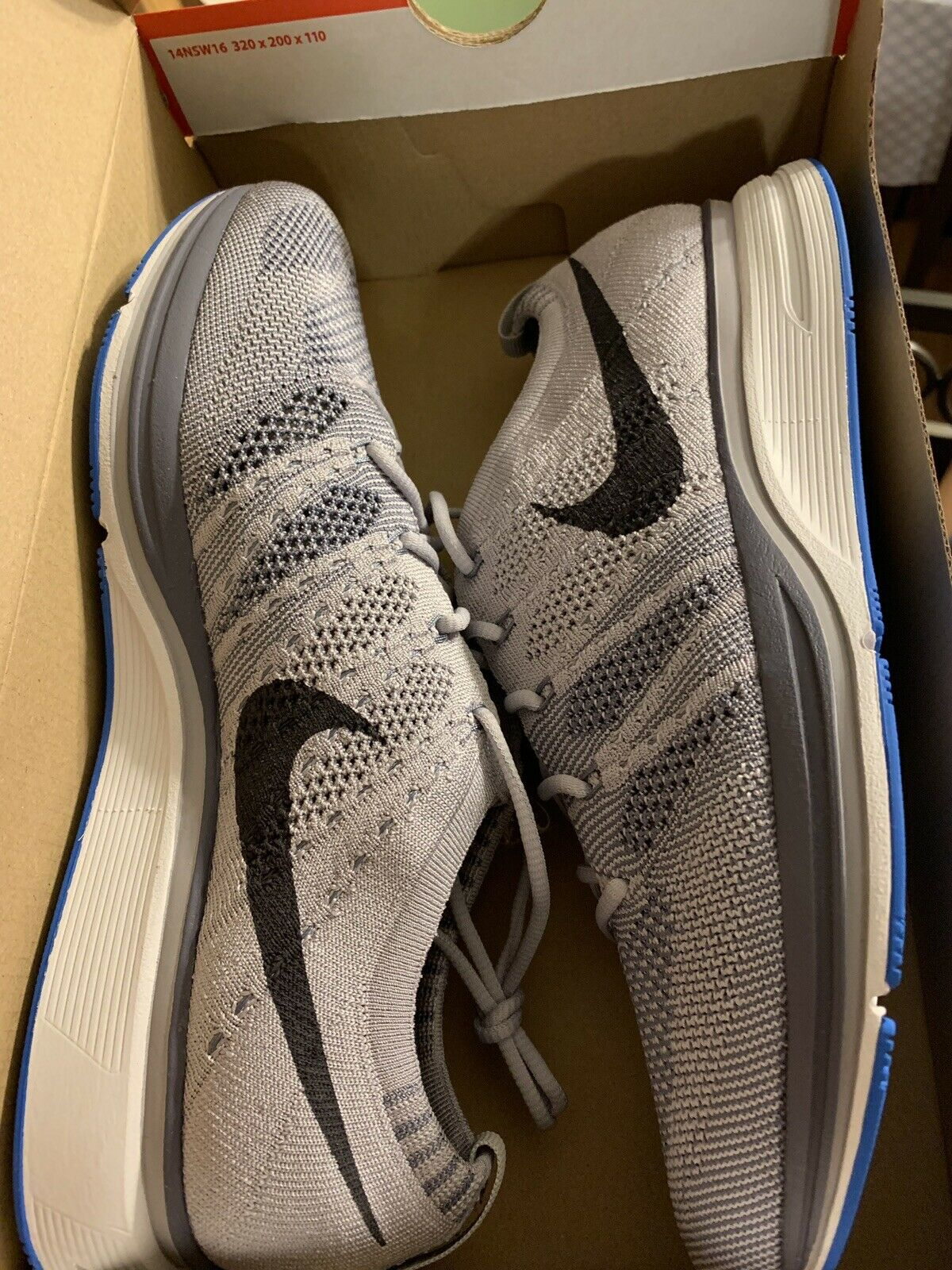 Mens Nike Flyknit Trainer Size 13 (AH8396 006) No Box