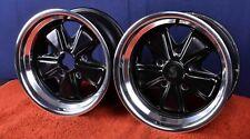 Porsche 911 Genuine Fuchs 8 X 15 Wheels Pair Carrera Rs 911s 911sc 914 6 Gt Rims