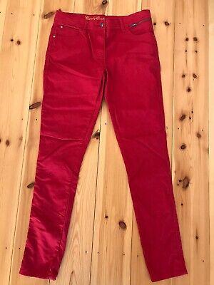 Candido Nuovo-candy Couture Ragazza Pantaloni Slim Leg-colore Rosso-età 16 Anni-mostra Il Titolo Originale Qualità Eccellente