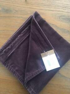 Pottery Barn One Napa Grape Washed Velvet Pillow Covers 20