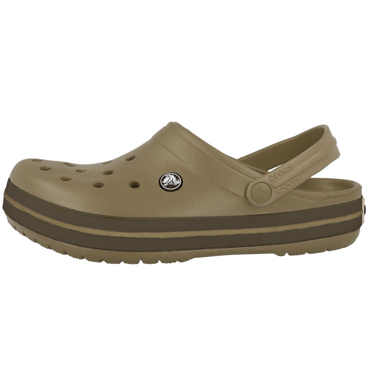 Crocs  Crocband Sabot  Crocs  kaki 11016-23g Chaussures tongs de piscine 2.5 07c3cf