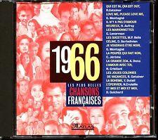 LES PLUS BELLES CHANSONS FRANCAISES - 1966 - CD COMPILATION ATLAS