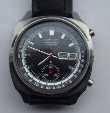 VINTAGE SEIKO 6139-6020 CHRONOGRAPH AUTOMATIC WRIST WATCH (Dated July 1970)